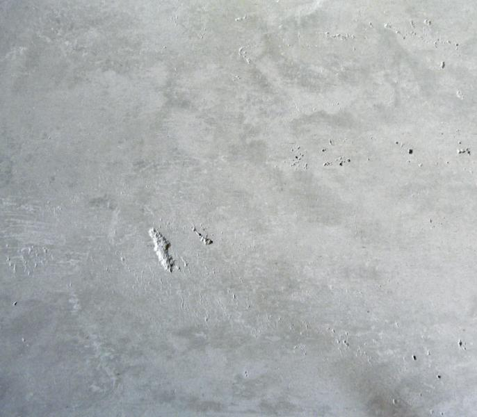 Concrete polished plaster wall finish provides an How to finish a concrete wall